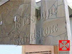 Light-Brown Sandstone Wall Cladding