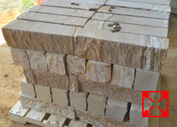 Sandstone Garden Edging