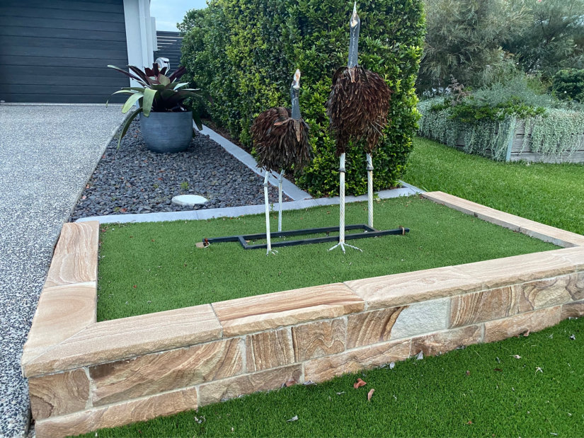 Cheap landscaping ideas inexpensive landscaping home for Landscape gardeners brisbane