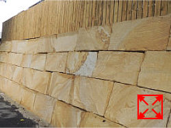 B Grade Sandstone Blocks