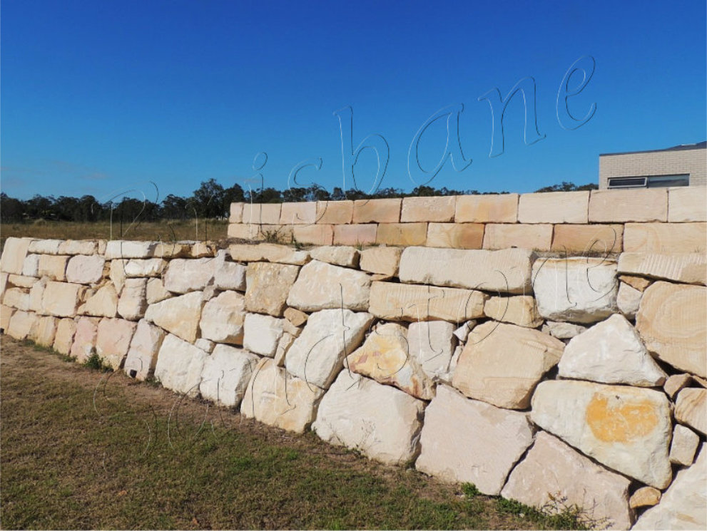 Ipswich Sandstone Retaining Wall Blocks